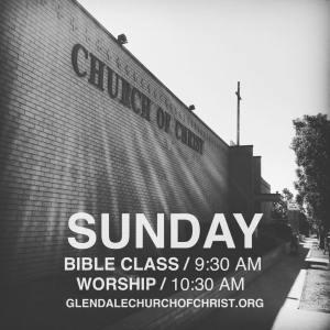 Glendale Church of Christ Post