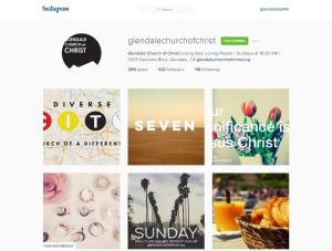 Glendale Church of Christ Instagram