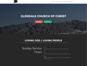 Glendale Church of Christ Website
