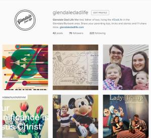 GlendaleDadLife Instagram