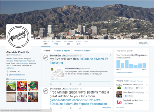 GlendaleDadLife Twitter