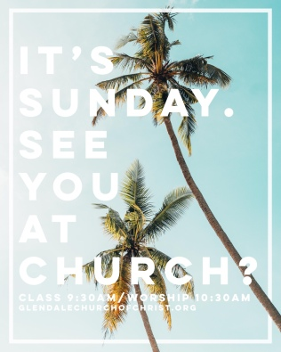 It's Sunday See You at Church