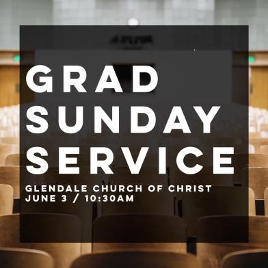 Grad Sunday Service